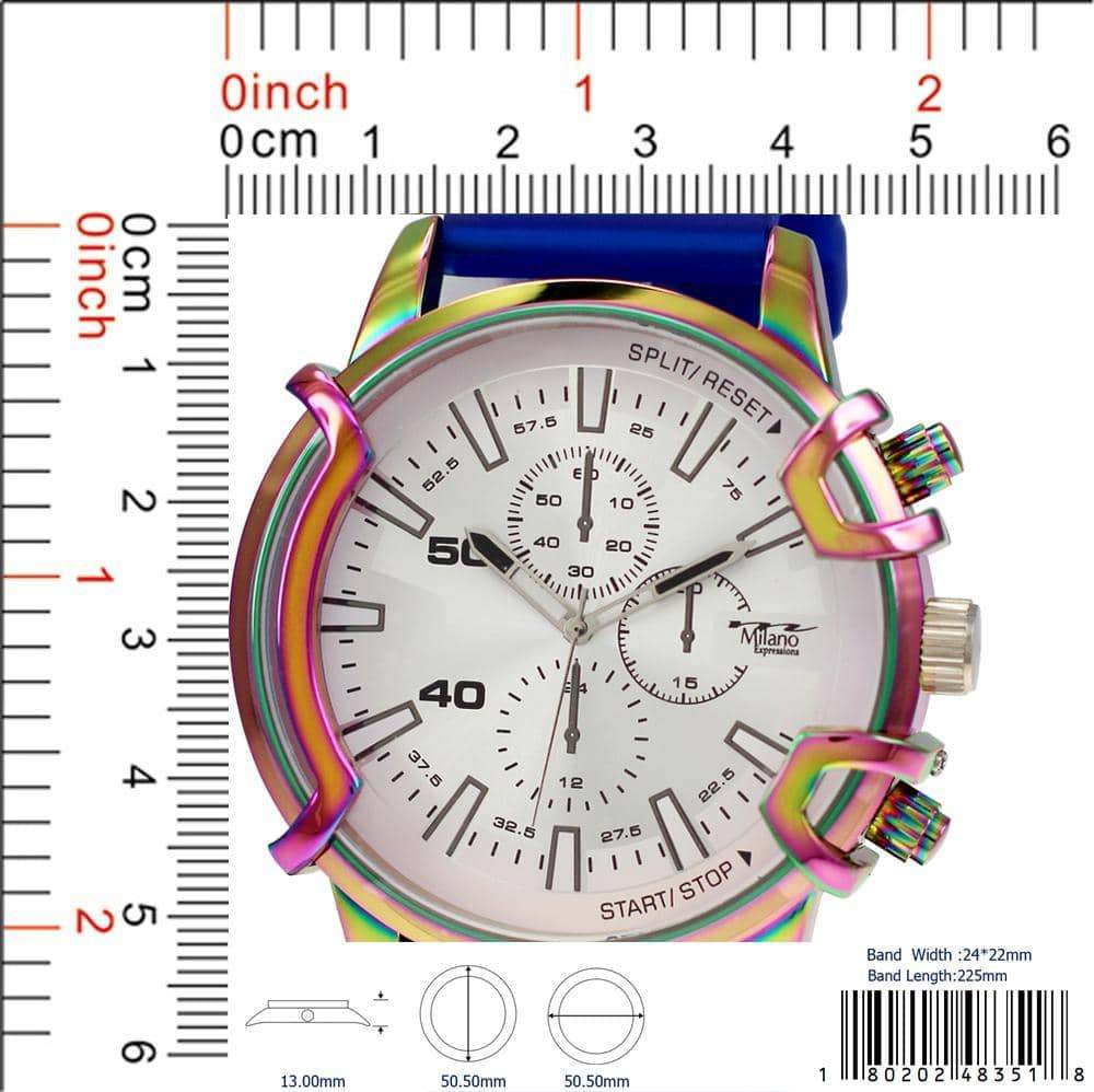 4835 - Silicon Band Watch