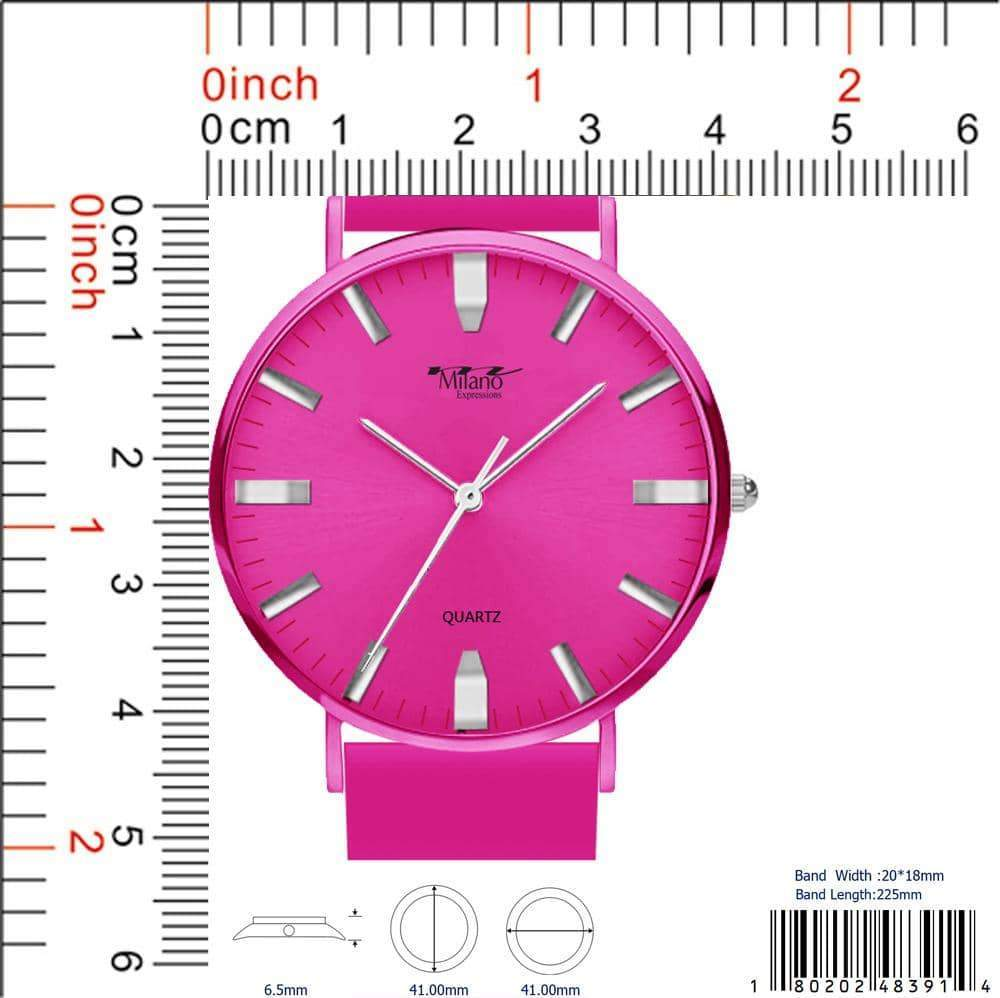 4839 - Silicon Band Watch