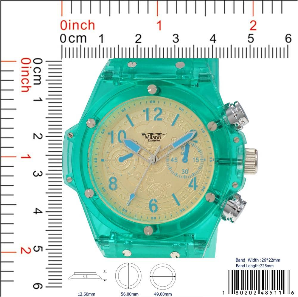 4851 - Silicon Band Watch