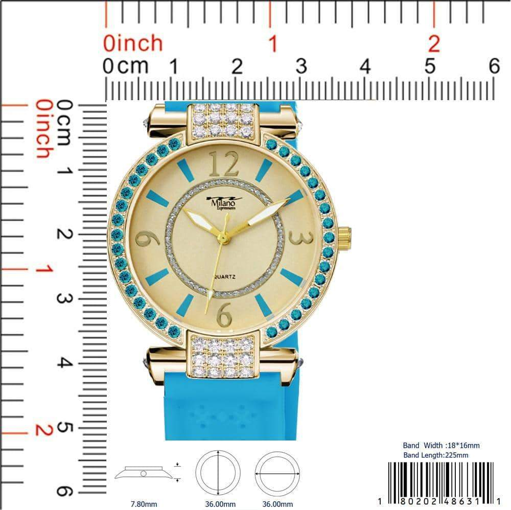 4863 - Silicon Band Watch
