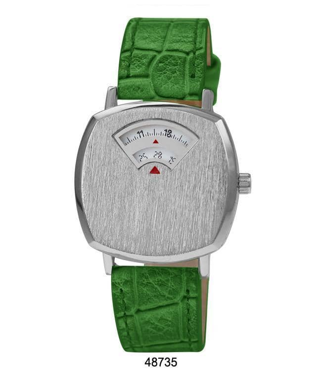 4873 - Vegan Leather Band Watch