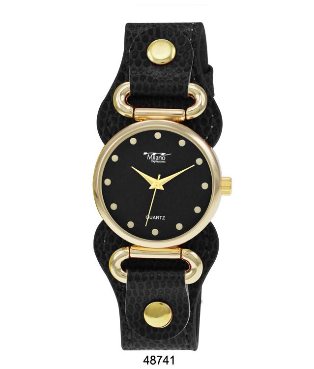 4874 - Vegan Leather Band Watch