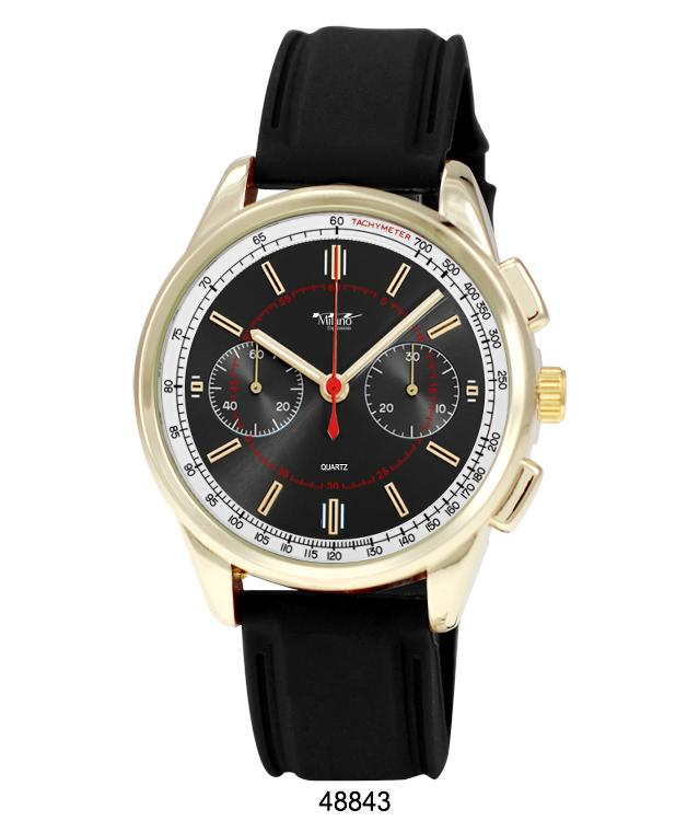 4884 - Silicon Band Watch