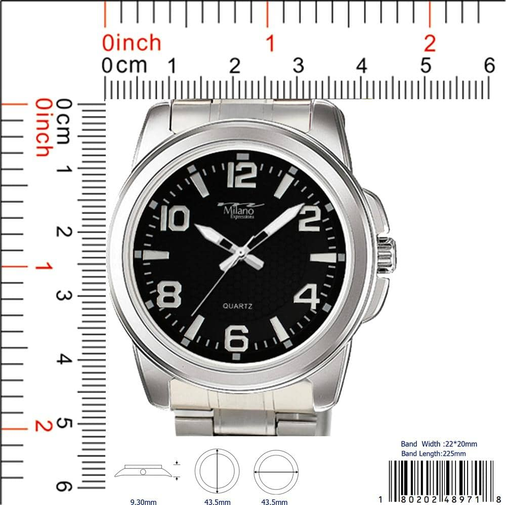 4897 - Metal Band Watch