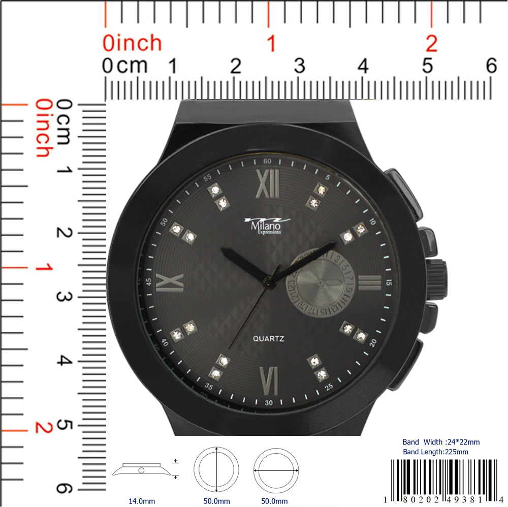 4938 - Silicon Band Watch
