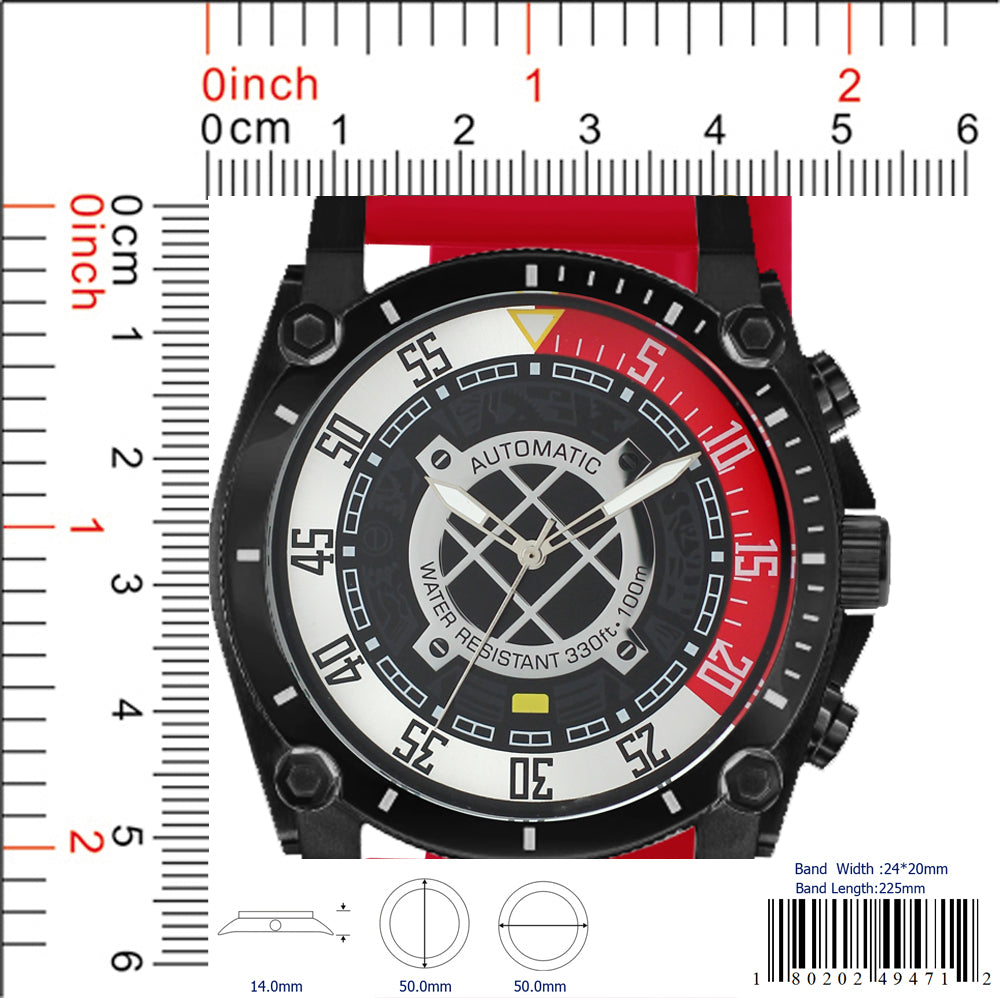 4947 - Silicon Band Watch