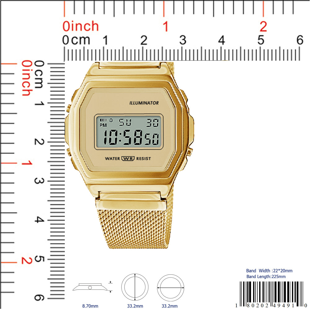 4949 - Retro Digital Watch