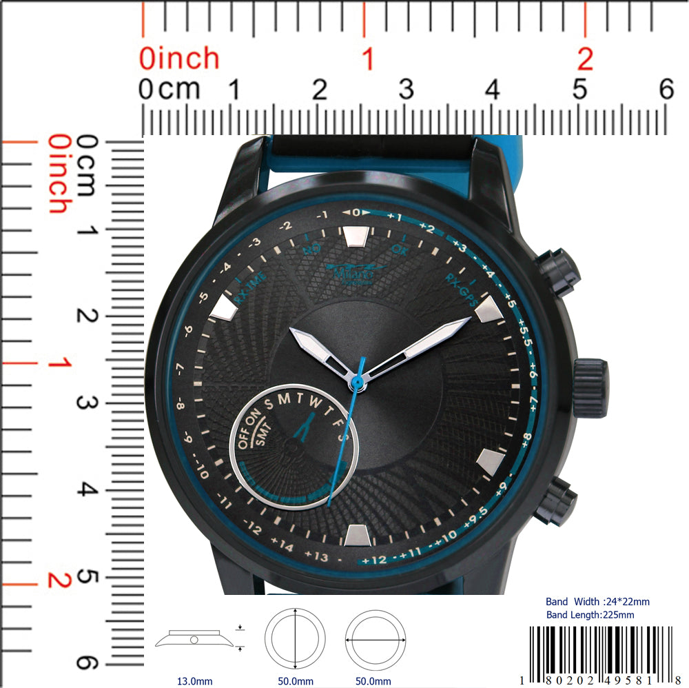 4958 - Silicon Band Watch