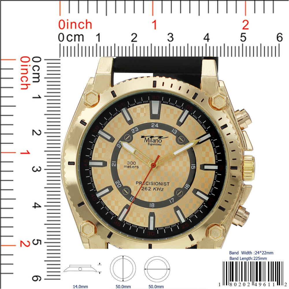4961 - Silicon Band Watch