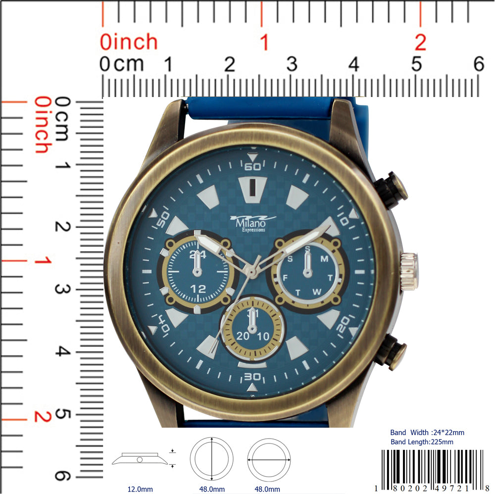4972 - Silicon Band Watch