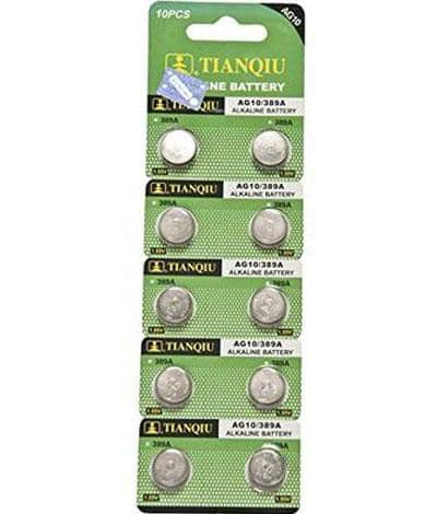AG-10 Battery - Pack of 10 Wholesale Watch - AkzanWholesale