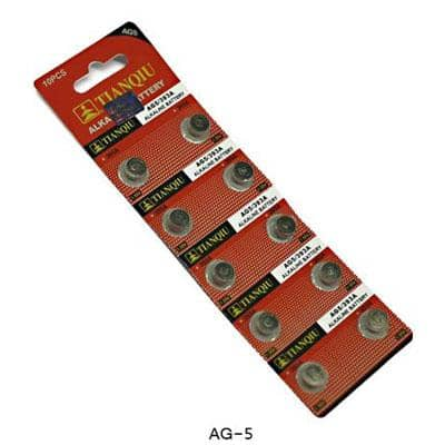 AG-5 Battery - Pack of 10 Wholesale Watch - AkzanWholesale