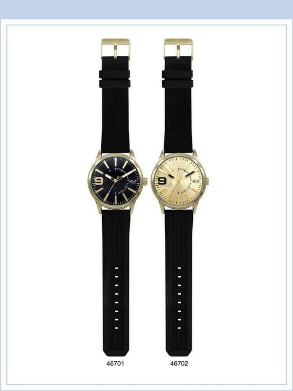 48MM Milano Expressions Rubber Strap Watch - 4670