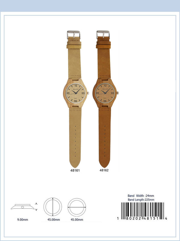 45MM Wooden Watch - 4816