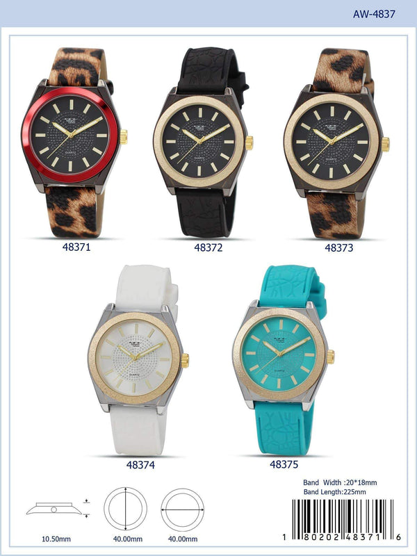 40MM Milano Expressions Rubber Strap Watch - 4837