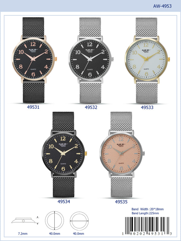 ME4953 - Mesh Band Watch