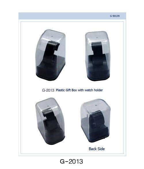 Transparent Gift Box with Watch Stand (G-2013) Wholesale Watch - AkzanWholesale