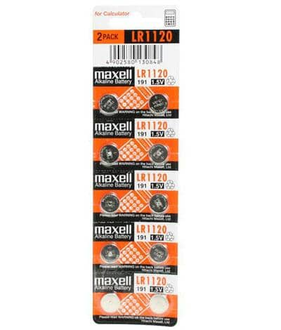 Maxell LR1120 - Pack of 5 Wholesale Watch - AkzanWholesale