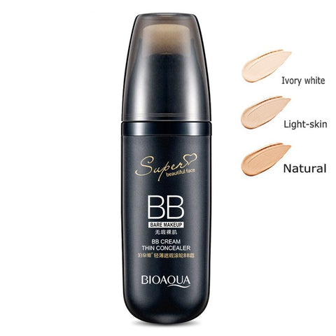 BB Cream Concealer Moisturizing Foundation Makeup Bare Whitening Face Korean Cosmetics