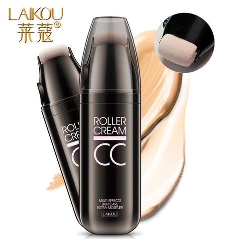 Roller Design CC Cream Whitening Isolation Concealer Moisturizing Waterproof Face Foundation