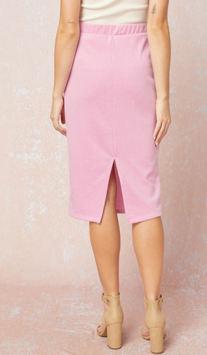 Cotton Candy Jersey Skirt