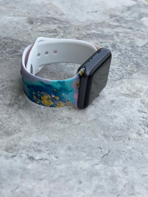 Apple Watch Band Geode Marble