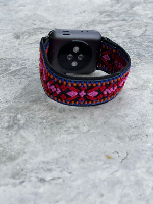 Apple Watch Band Embroidered In Love