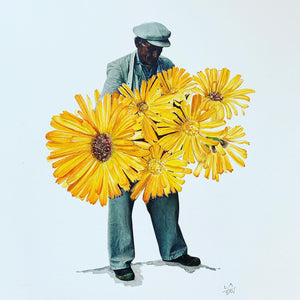 """Marigold Man"" / SOLD"
