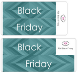 R06 || Retro Black Friday Full Day Stickers