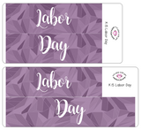 K15 || Kaleidoscope Labor Day Full Day Stickers