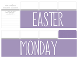 B09 || Basic Easter Monday Full Day Stickers