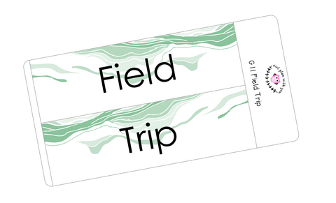 G11 || Geode Field Trip Full Day Stickers