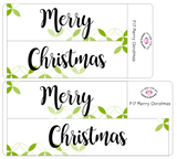 P17 || Petals Merry Christmas Full Day Stickers