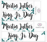 P18 || Petals MLK Jr. Day Full Day Stickers