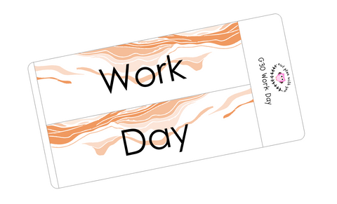 G30 || Geode Work Day Full Day Stickers