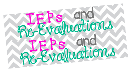 T48 || 2 IEP & Re-Evaluation Headers
