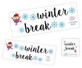 T170 || Winter Break Week Cover Stickers