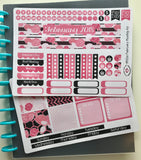 HP02 || February Rose Happy Planner Teacher Kit