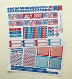 HP07 || July Firework Happy Planner Teacher Kit