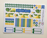 HP08 || August Lemons Happy Planner Teacher Kit