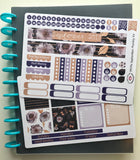 HP09 || September Lavender Glitter Happy Planner Teacher Kit