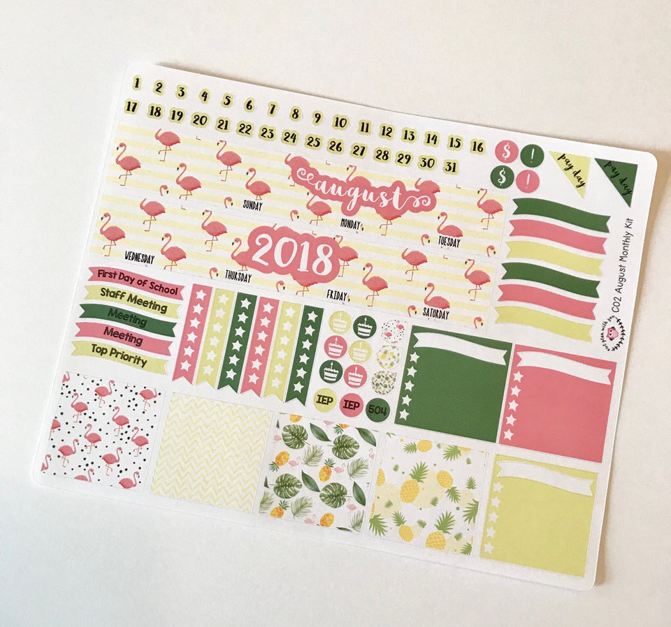 Monthly Kits for Classic Happy Planners