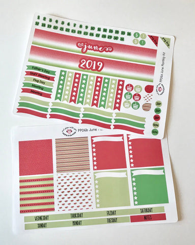 PP06 || June Watermelon Plum Paper Teacher Kit