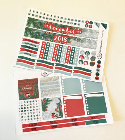 PP12 || December Pine Plum Paper Teacher Kit