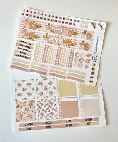 PP05 || May Rose Gold Plum Paper Teacher Kit