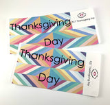 R27 || Retro Thanksgiving Day Full Day Stickers