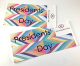 R20 || Retro Presidents' Day Full Day Stickers