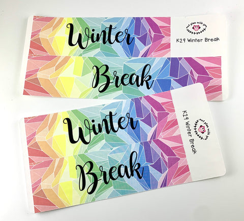 K29 || Kaleidoscope Winter Break Full Day Stickers