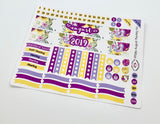 PP08 || August Sunflower Plum Paper Teacher Kit