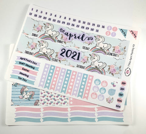 T94 || April Unicorn Monthly Kit